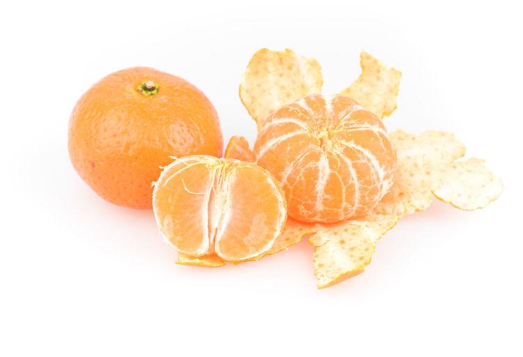 Citrus Fruit Close-up Cut Out Food Food And Drink Freshness Fruit Healthy Eating No People Orange - Fruit Orange Color Ready-to-eat SLICE Studio Shot White Background