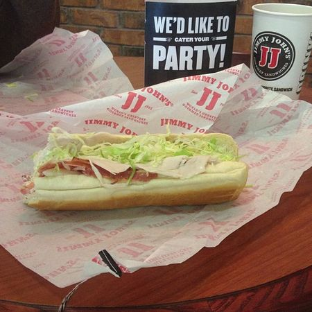 Jimmyjohns Sub Turkeybacon Yummmm