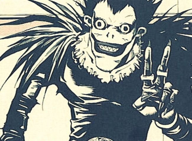 Death Note Myfav Ryuk Yagamilight