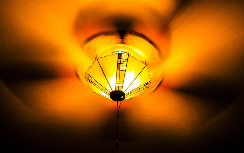 Light Light And Shadow Fan Orange First Eyeem Photo