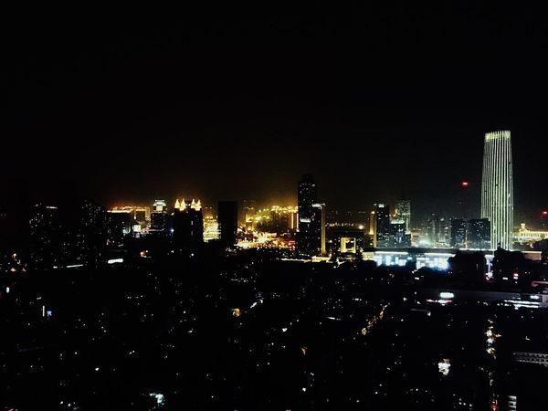Night Building Exterior City
