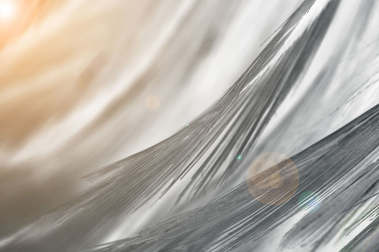 Close-up Backgrounds Full Frame Pattern No People Motion Abstract White Color Selective Focus Vulnerability  Textile Fragility Indoors  Softness Nature Extreme Close-up Textured  Beauty In Nature Water Blurred Motion Abstract Backgrounds Flowing