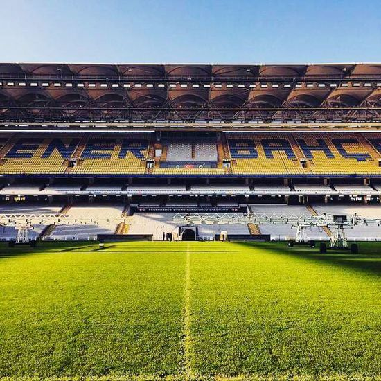 Stadium Sport Playing Field Grass American Football - Sport Soccer Soccer Field Futbol Fenerbahçe SK Model First Eyeem Photo Models Backgrounds Rock - Object Sky Outdoors Sports Sports Photography Nature Photography Eroded Geology Stone - Object Day No People Team Sport