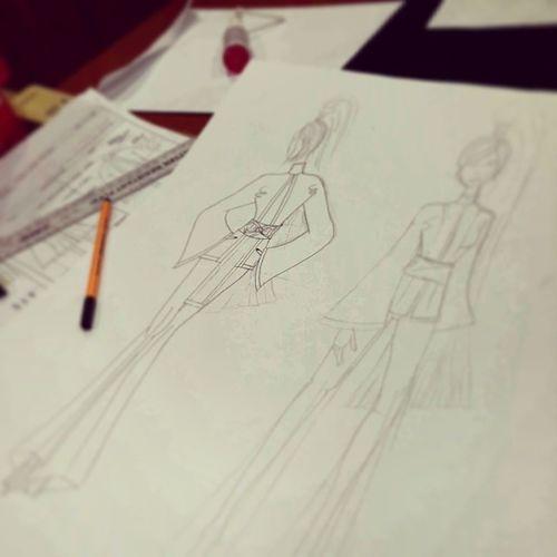Illustration♡ Rockingit Fashion Serrmongil Phase1 design process