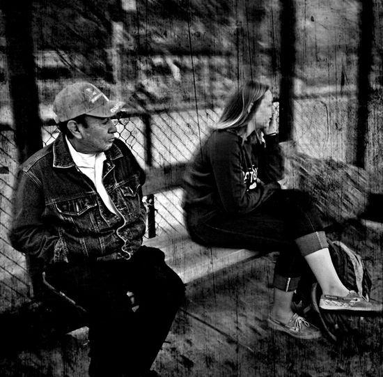 Talk away. Blackandwhite Andrography WeAreJuxt.com Droidography Andrographer AMPt-Android Streetphotography