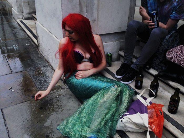 Londonpride Drag Queen Little Mermaid  London