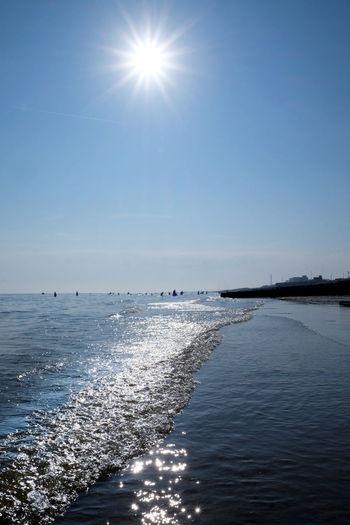 Brighton Brighton Beach Brighton And Hove Brightonbeach Heat Wave Star Bursts
