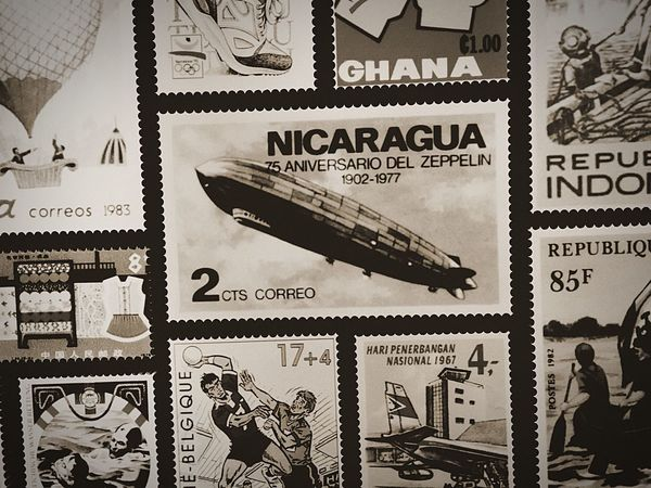 Indoors  stamp