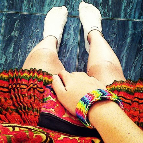 My style ? Skirt Bags Cabaret Loombands