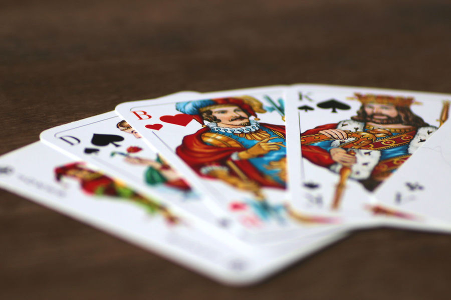Kartenspielen Poker Karten Kartenspiel König