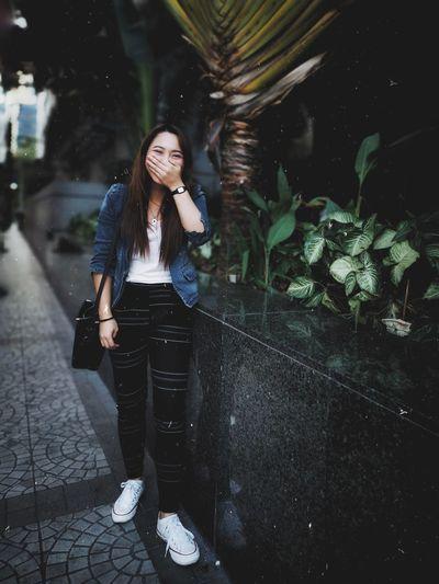 Young Women Full Length Women Water Long Hair Casual Clothing