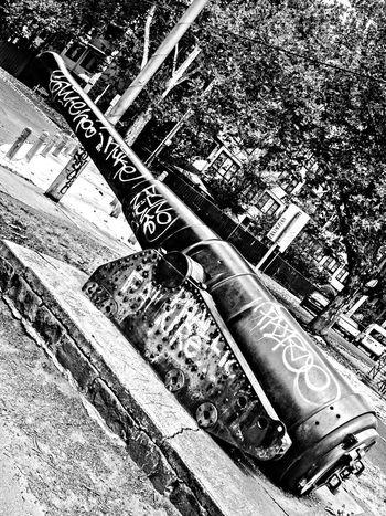 Black And White Urban Tagging Phallic Epic Fail