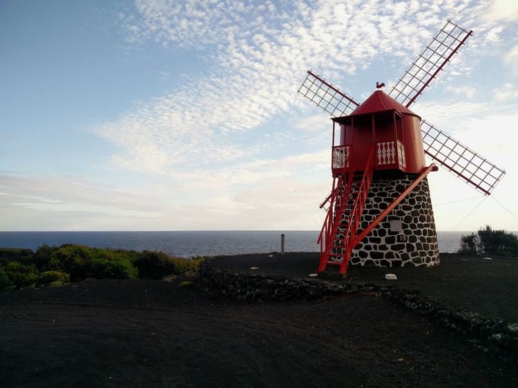 EyeEmNewHere Ilha Do Pico Island Azores Açores Windmill Moinho De Vento