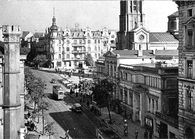 Plac wolności, ul Gdańska, Bydgoszcz Bydgoszcz Polska Poland Oskarjursza Oski