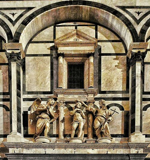 """""""Baptestery Statues"""" - Firenze Firenze Florence Italia Italy Photobydperry Baptestery Baptistry Architecture Architectural Detail Thearchitect-2016-eyeemawards"""