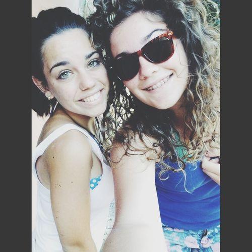 Amica mia, tu sei la più bella!❤ Friend Summer Smile Love