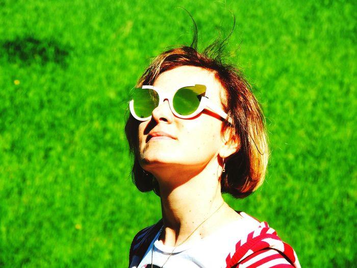 Park Palace Green Color Sunglasses Pushkin  Sankt-peterburg Portrait Wifey♡ Anastasia❤️ My All ❤️ The Outdoors - 2016 Eyeem Awards