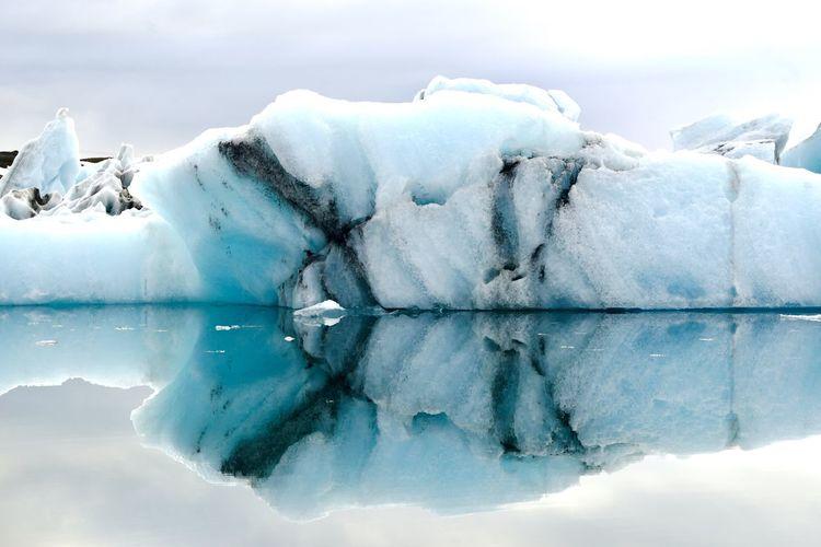 Jökulsárlón Iceland Cold Temperature Ice Frozen Winter Snow Water Environment