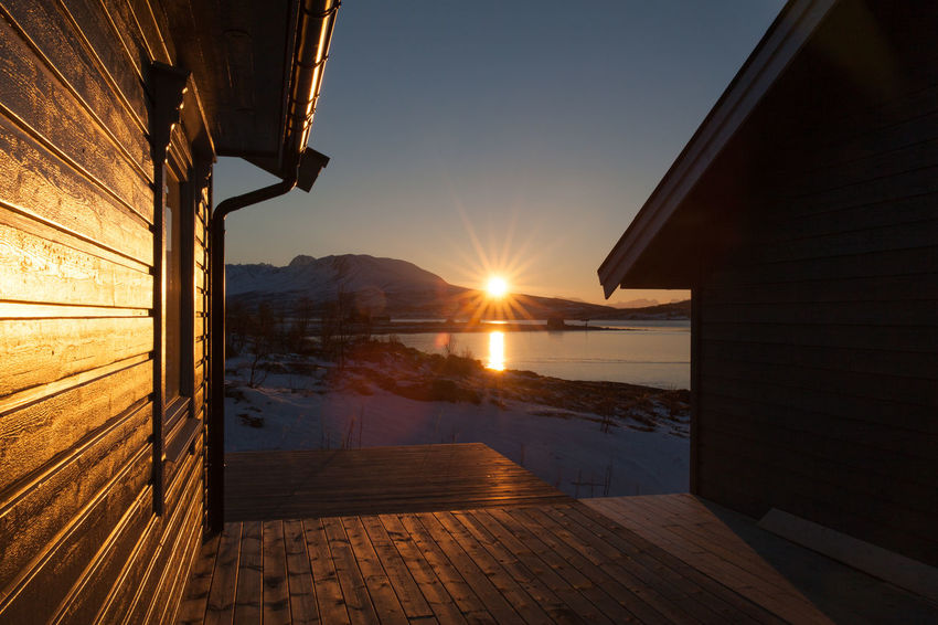 Winter sunset, Nord-Lenangen, Norway Arctic Beauty In Nature Bright Fjord Frozen Idyllic Lens Flare Nature No People Norway Outdoors Scenics Sky Snow Sun Sunlight Sunset Tranquil Scene Tranquility Troms Tromsø Ullsfjord Ullsfjorden Winter