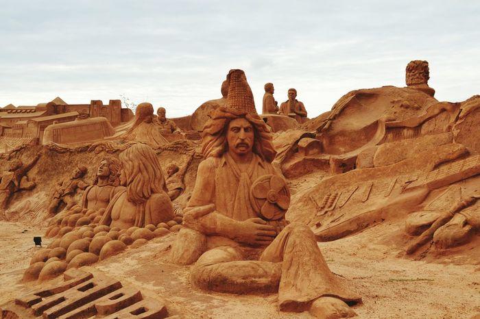 Sand Sculpture Sand Sculpture Park No People Art Sand Imagination Sand Sculptures Sculpture