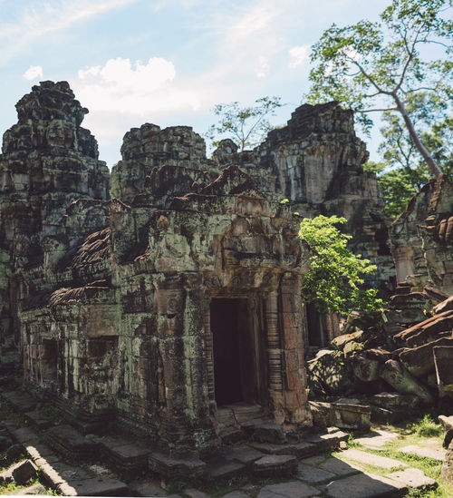 Siem Reap Cambodia Angkor Architecture Built Structure Building Place Of Worship History Religion The Past Ancient Belief Building Exterior Travel Destinations Old Ruin Spirituality Nature Travel Ancient Civilization Day No People Outdoors Archaeology Ruined