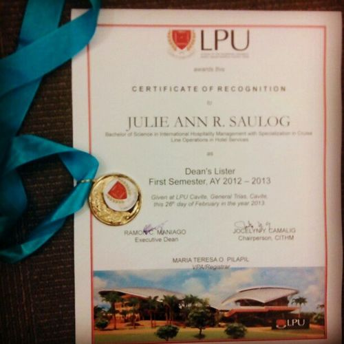 CITHM recognition day. I post this to express not to impress ;) Proud DL Lpu CLHS @superevanss
