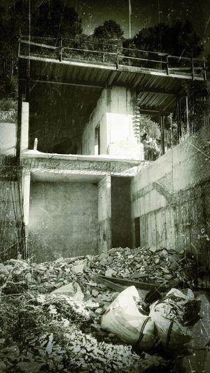 human greed (The large bubble) Black And White Blancoynegro Abandoned Places Eye4photography  Streetphotography Abandoned