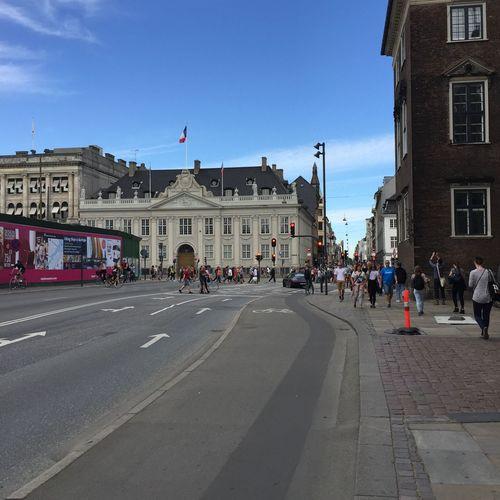 Pedestrians in