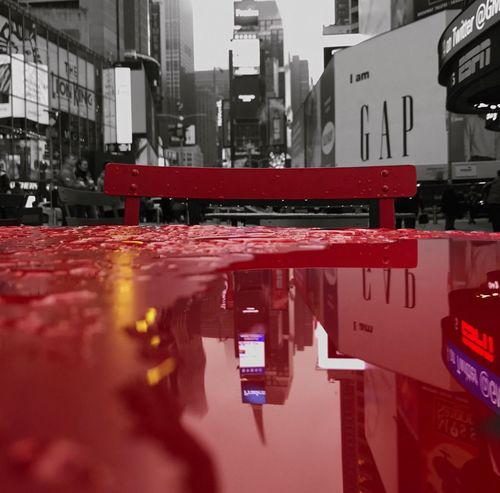 Red Water City Close-up Outdoors Day TheMinimals (less Edit Juxt Photography) Reflection