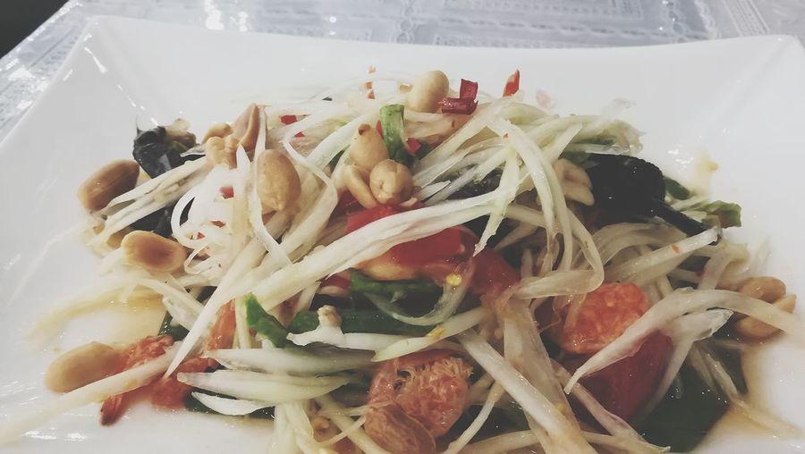 somtumpoo Somtum Pu-plarha Close-up Food And Drink Seafood Fish Market Shrimp Crab - Seafood Shrimp - Seafood