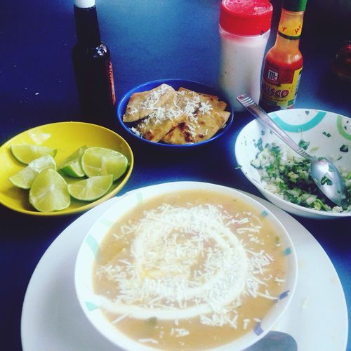 A soup that in ElSalvador  is calling Mariscada is AWESOME 😍😍😍 Soup Sopa Fish Langosta Cangrejo