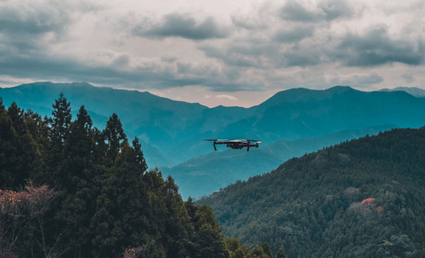 Japan Travel Shootermag Drone  Drones AMPt_community EyeEm Mountain Sky Cloud - Sky Tree Air Vehicle Plant Mode Of Transportation Transportation Flying Scenics - Nature Beauty In Nature Mid-air Nature Mountain Range Airplane No People Day Outdoors Plane Tranquil Scene Tranquility Environment