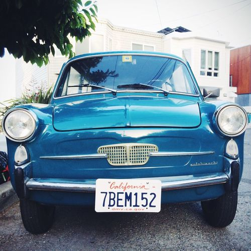 Autobianchi on the Streets Of San Francisco | San Francisco Cars & Trucks