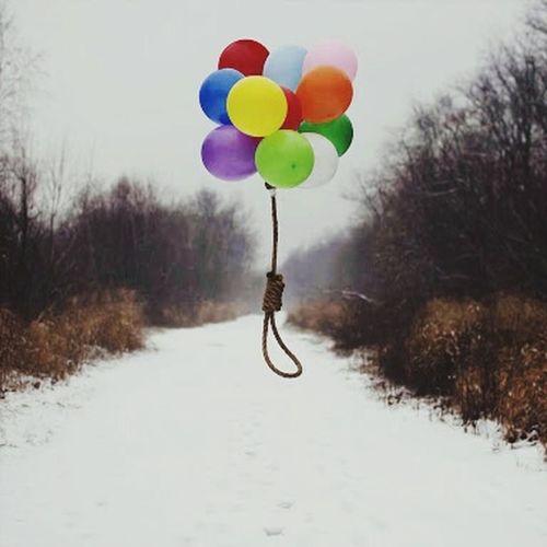 Renk Balon ölüm Hayat Art Gallery