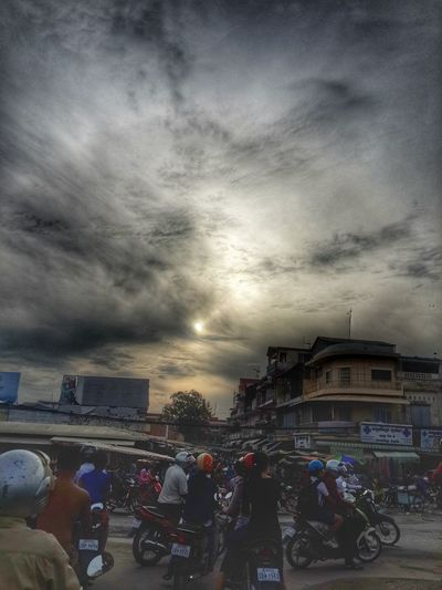 Busy Street Early Morning Popular Cambodia Cambodia Tour Cloud And Sky Enjoying Life First Eyeem Photo Sunrise_sunsets_aroundworld Taking Photos Relaxing Popular Photo Check This Out Pleasefollow Clouds And Sky Popular Photos Pleaselike Sunrise Hello World Phnompenh Phnom Penh