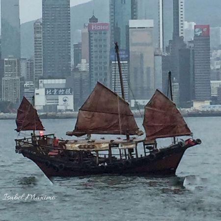 Been There. Sampan boat, HongKong. Very few left of this kind of boat. Sampan Sampan Ride Hongkong Photos Hongkongphotography Hongkongcity Hongkongeyeem Seascape Seaandsky EyeEm Gallery Eyem Market