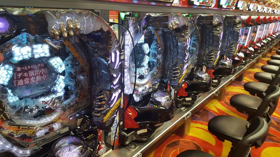LOT OF FUN Pachinko Pachinko In Japan Choice Funny Machines Lot Of Machines No People Pachinko Machines