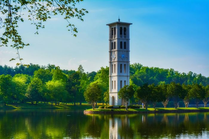 Clock Tower at Furman University EEA3 - Greenville EEA3 Hanging Out Elegance Everywhere The Architect - 2015 EyeEm Awards The Great Outdoors - 2015 EyeEm Awards The Moment - 2015 EyeEm Awards