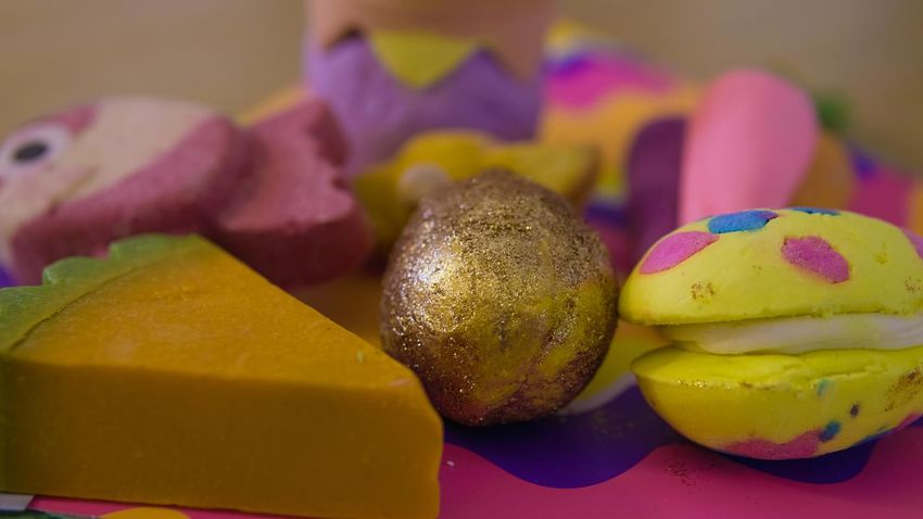 Golden Egg Lush Lush Cosmetics Easter Range EyeEm Selects Street Light Sky Multi Colored Easter Yellow Fruit Variation Close-up Food And Drink Easter Egg Easter Bunny