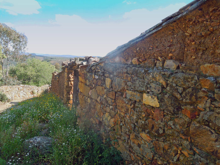 Built Structure CastillaLaMancha Cloud - Sky Idyllic Landscape Non-urban Scene Remote Rock - Object Scenics Sky SPAIN Stone - Object The Way Forward Tranquil Scene Tranquility Travel Photography Walking Around Wall Wall - Building Feature