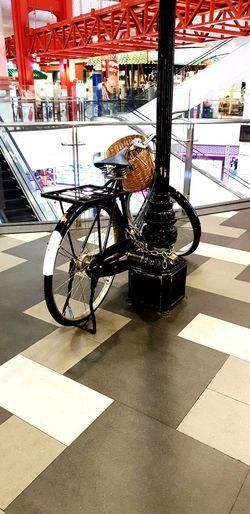 City Supermarket Bicycle Land Vehicle Store Stationary