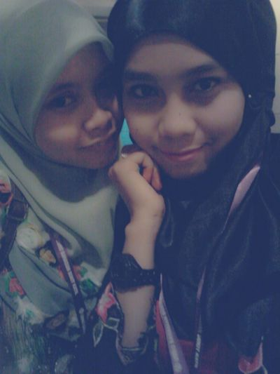 with my bff