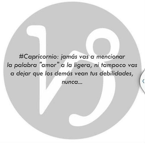 Nunca! 🐑🐑🐑🐑 Love Capricorn Capricornio Horoscopo zodiaconegro zodiaco