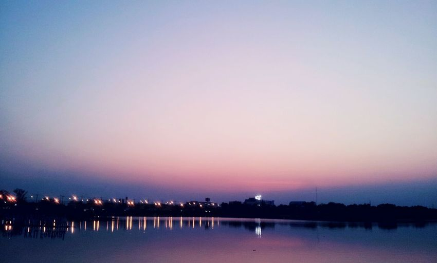 Evening View Evening Light