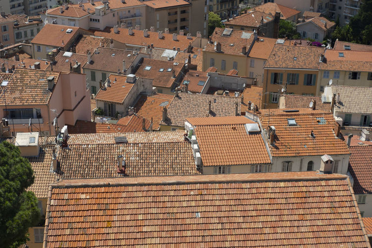 Cannes France Architecture Brown City High Angle View House Outdoors Roof Sunnyday Xpro2