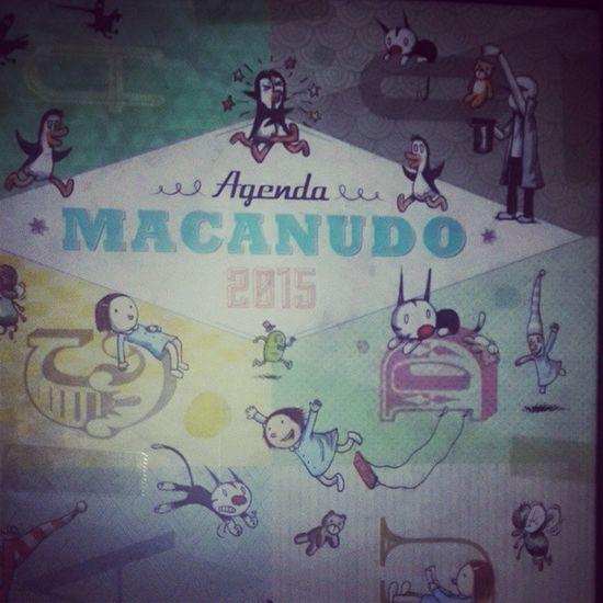 Regalo de cumpleaños/birthday gift 💜 Birthdaygift Regalocumpleaños Macanudo Liniers olga enriqueta fellini duendes pinguinos agenda2015