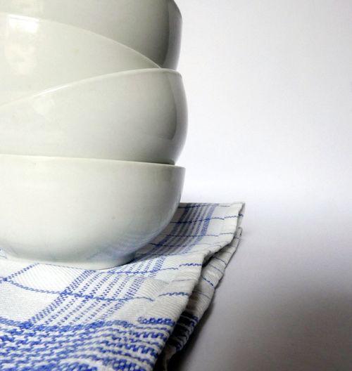 Kitchen Bowls Still Life Kitchenware White