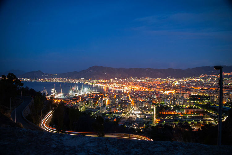Palermo Nikon Nikond200 Reflex Photo Photos Beautiful Pic Picoftheday Pics Picture Pictures Art Photooftheday Color Exposure Composition Focus Capture Business Finance And Industry Light Trail Sky Architecture Landscape Calm Vehicle Light Mountain Range Mountain Road Rocky Mountains Scenics
