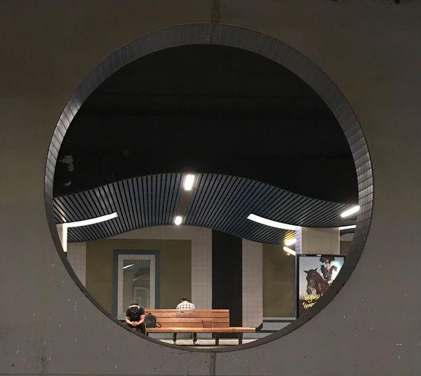 Architecture Built Structure Geometric Shape Circle Shape No People Transportation