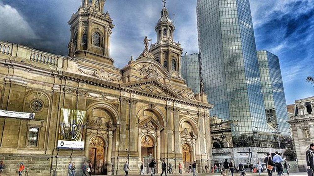 Catedral de Santiago Arquitetura City Instachile Plaza de armas Snapseed S5 HDR